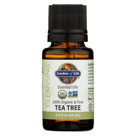 Garden Of Life - Essential Oil Tea Tree - .5 Fz