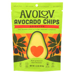 Avolov - Avocado Chips - Sriracha - Case Of 12 - 1.5 Oz.
