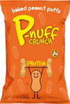 P-Nuff Crunch- Baked Peanut Puffs- 4 oz. bag (113 g)