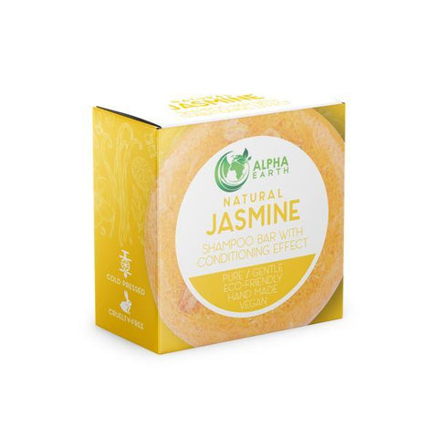 Alpha Earth 2-in-1 Shampoo Bar- JASMINE