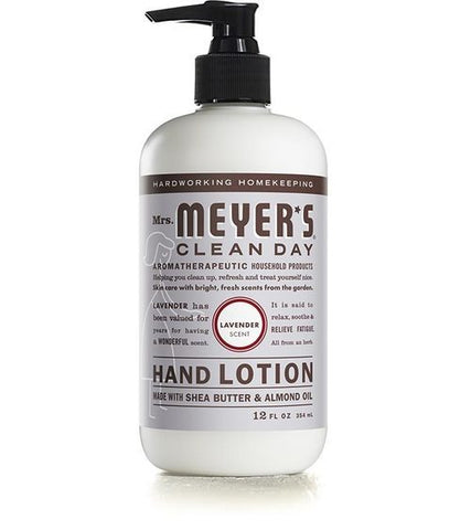 Mrs. Meyer's Clean Day - Hand Lotion - Lavender - 12 Fl Oz