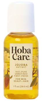 Hoba Care Pure Jojoba - 1 oz. bottle