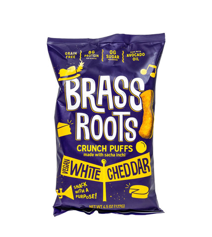 Brass Roots Crunch Puffs- White Cheddar