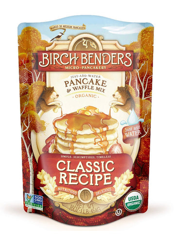Birch Benders Organic Classic Recipe Pancake Mix