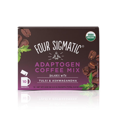 Four Sigmatic - Adaptogen Coffee Mix with Ashwagandha - 1 Each - 10 ct.