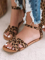 Summer Adjustable Buckle Daily Sandals
