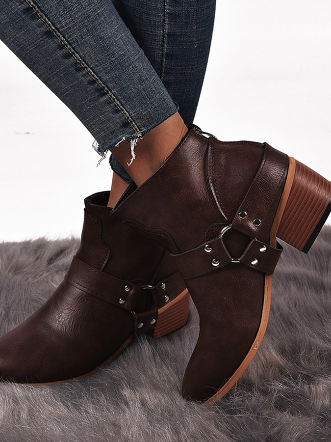 Casual Leather Women's Shoes
