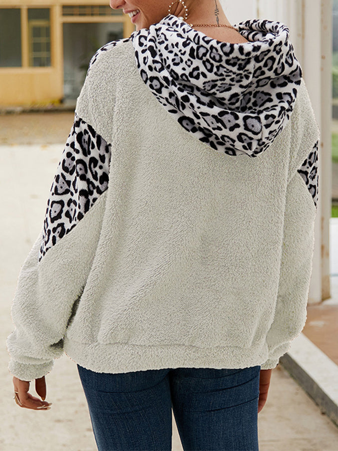 Long Sleeve Shift Holiday Pockets Sweatshirt