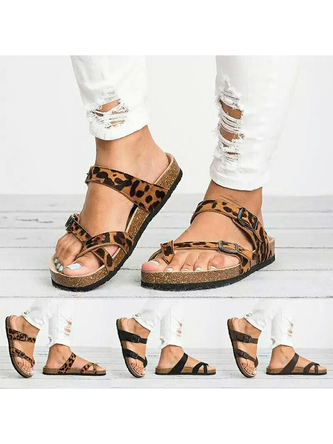 Summer Casual Solid Slippers