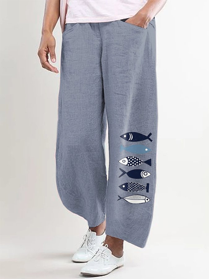 Shift Animal Pockets Pants