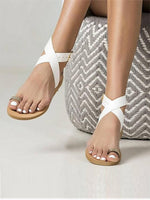 Adjustable Buckle Casual Sandals