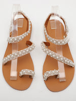 As Picture Spring/fall Sequin Casual Sandals