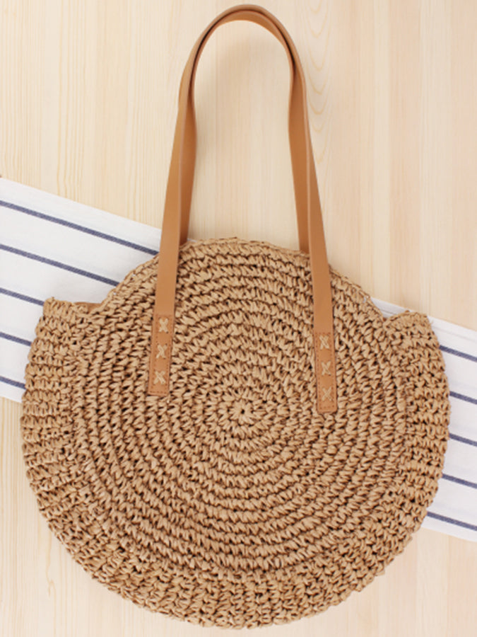 Straw Sweet Shoulder Bags