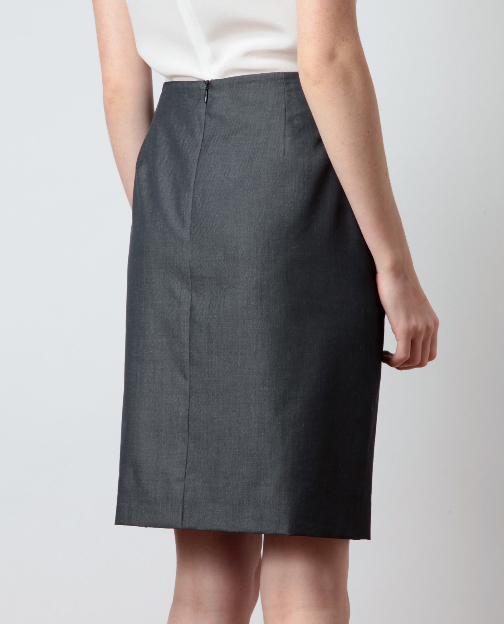 Cotton Pencil Skirt