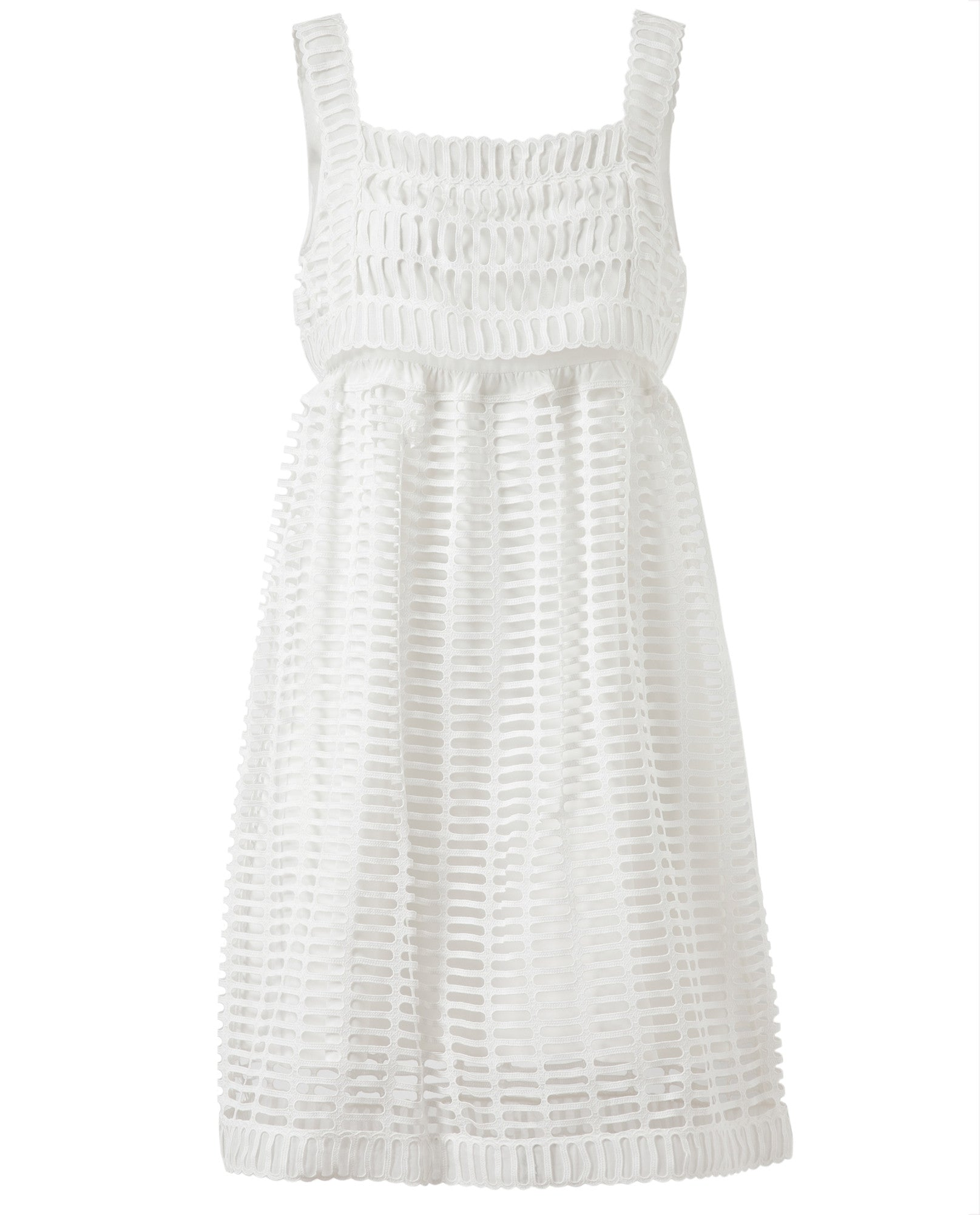 Cotton and Lace Dress