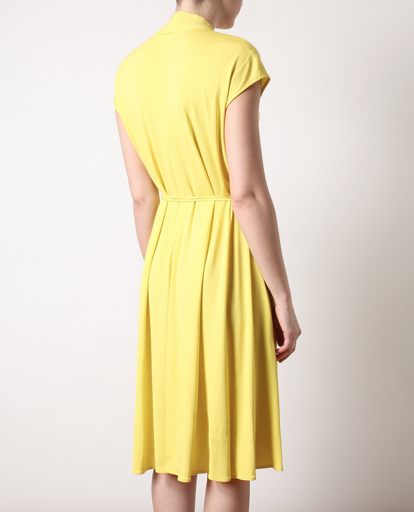 Crepe Jersey Wrap Dress