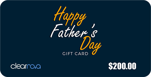 ClearNova Father's Day Gift Card