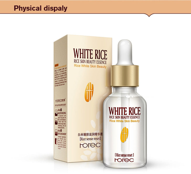 White Rice Whitening Serum Cream