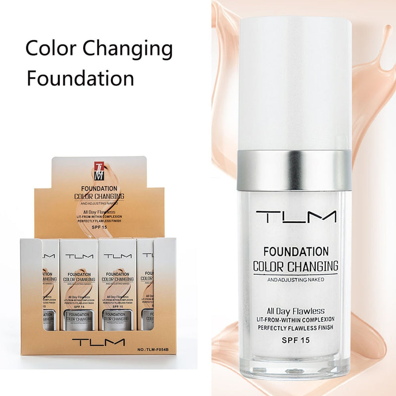 Magic Color Changing Liquid Foundation Makeup Base