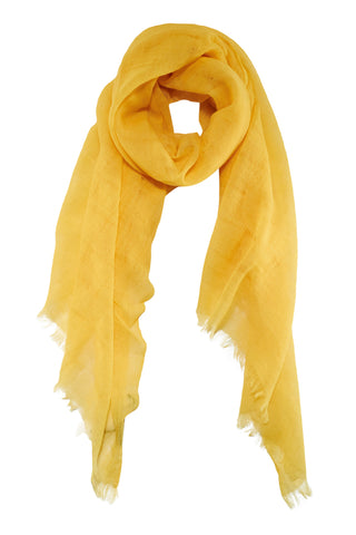 Beautiful warm yellow scarf