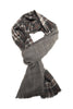 Ultra soft double sided plaid scarf from Besos