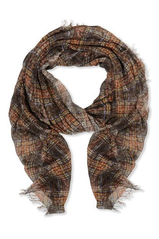 Exclusive Faliero Sarti scarf in alpaca and silk