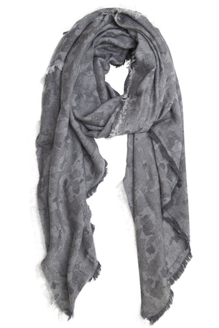 Unique grey scarf