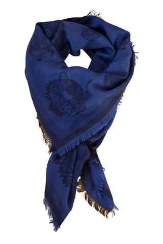 Kenzo scarf in beautiful blue shade