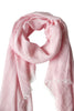 Pink scarf in soft blend