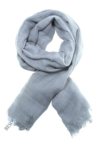 Beautiful cool grey scarf