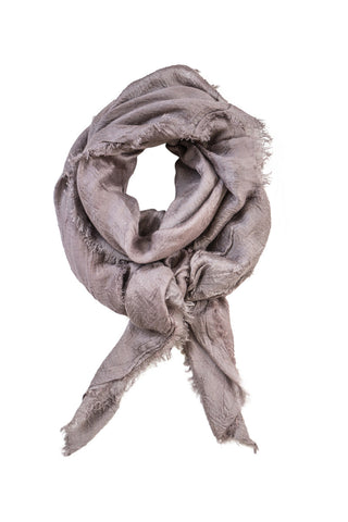 Dusty rosa scarf in cashmere blend