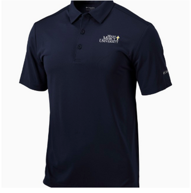 Columbia Men's Omni Wick Drive Polo, Navy