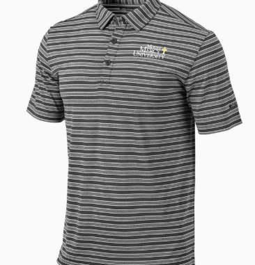 Columbia Men's Omni Wick Members Polo, Forged Iron