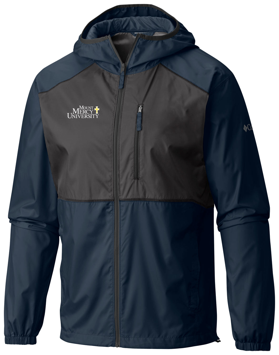 Columbia Men's Flash Forward Windbreaker, Collegiate Navy
