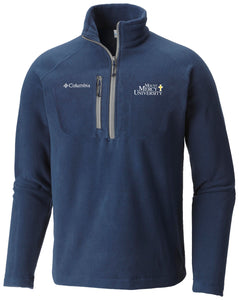 Columbia Men's Fast Trek III 1/2 Zip Fleece, Navy