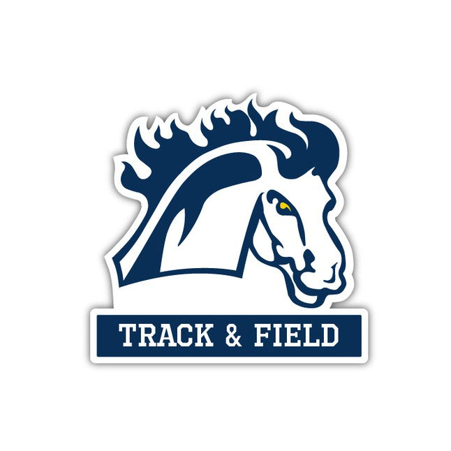 MMU Track & Field Decal - M15