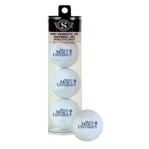 Spirit Products Branded Golf Balls, 3pk