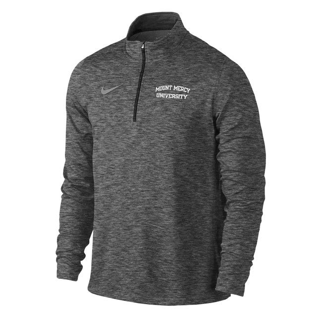 Nike Men's Heather Element 1/4 Zip, Anthracite