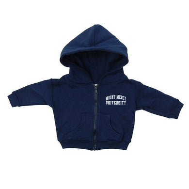 Little Kings Full Zip Hooded Fleece, Navy