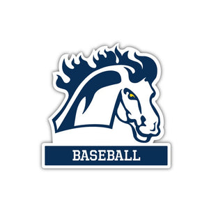 MMU Baseball Decal - M7