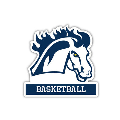 MMU Basketball Decal - M8
