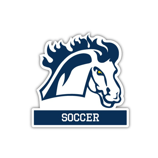 MMU Soccer Decal - M10