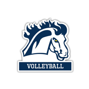 MMU Volleyball Decal - M12