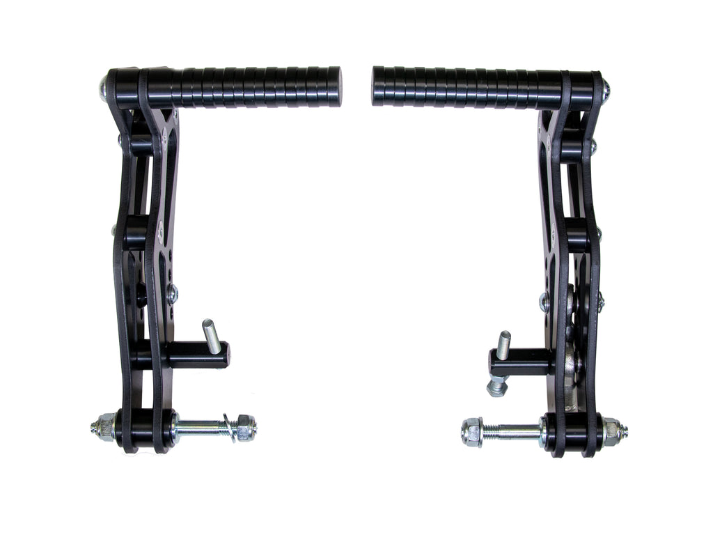 Adjustable Aluminum Pedal Kit