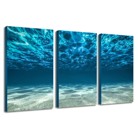 Hand Painted Three Combination Decorative Wall Art