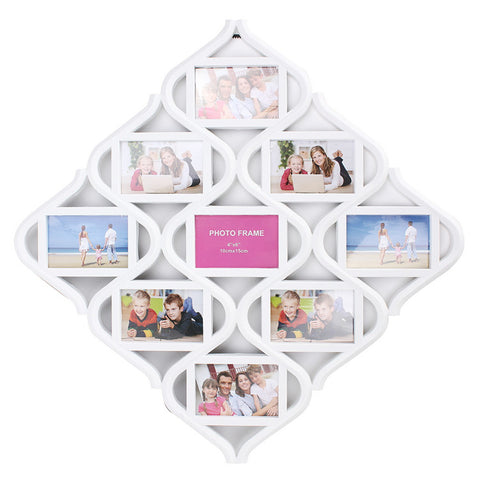 Chinese Knot 9 Image Family Photo Frame Wedding Gift