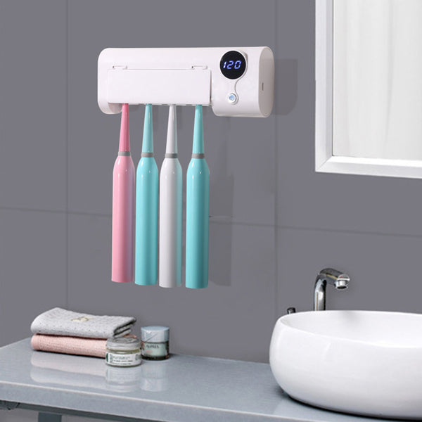 Smart Induction UV Electric Toothbrush Sterilizer Holder
