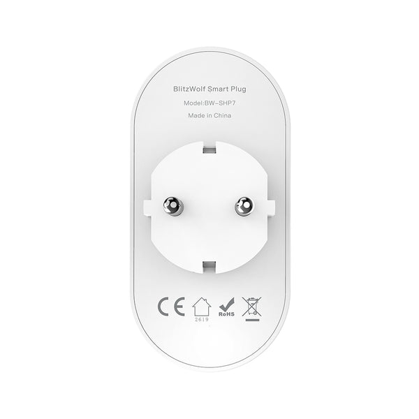2 IN 1 Dual Smart WIFI Socket Independent Remote Controller - EU Plug