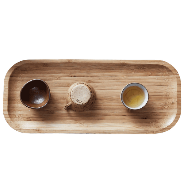 Bamboo Tea Tray Mat Kung Fu Tea Making Tools