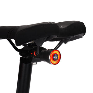 IP65 Smart Bicycle Brake Taillight USB Rechargeable 30 Days Standby 3 Modes Rear Lamp Intelligent Induction Bike Flash Warning Night Light
